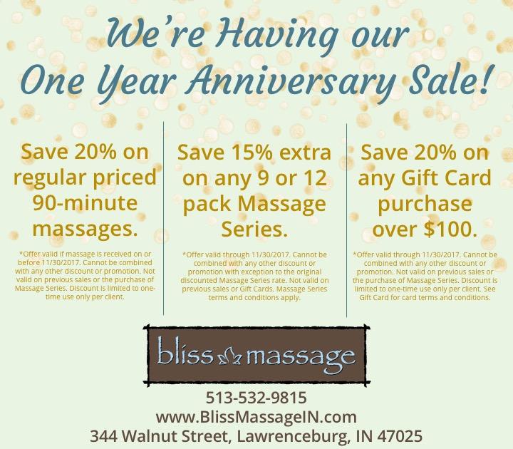 November 2017 Anniversary Sale